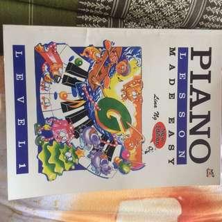 Lina ng piano grade 1 book