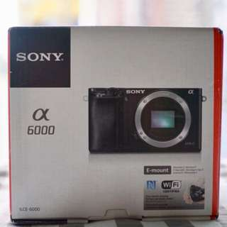 Sony A6000 (Body Only)