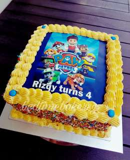 Customised Cake with Edible Image