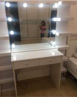 Vanity Dresser - Vanity Mirror - High Quality