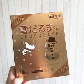 白之戀人 日本牛奶朱古力 18杖  Milkchoclate