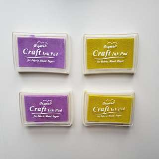 Crystal Craft Ink Pad Purple & Green