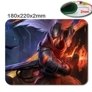 Bn Yasuo mouse pad