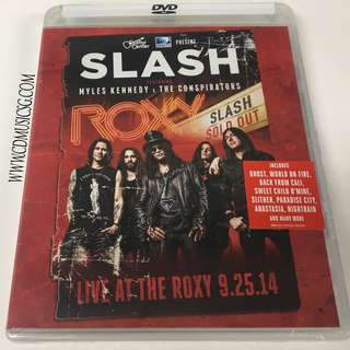 [DVD] Slash feat. Myles Kennedy & The Conspirators - Live At The Roxy 2014