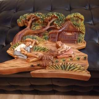 3 dimensional wood carving