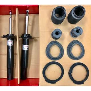 BMW Absorber front & rear set for E60 & E90 include mounting, dustcover,stopper, spring pads