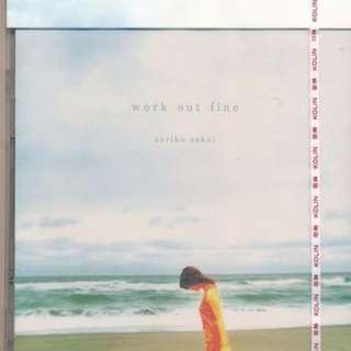 {CD 藏珍舖}  酒井法子 Noriko Sakai ~ work out fine 全新 CD