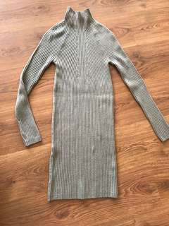 Forever 21 knit sweater dress
