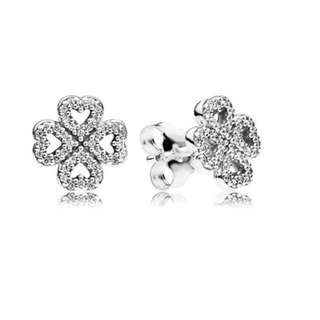 Pandora Petals of Love Stud Earrings