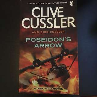 **Sale Last 3days** Clive Cussler - Poseidon's Arrow