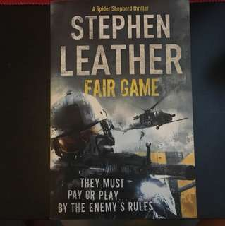 ** Sale Last 3days** Stephen Leather - Fair Game