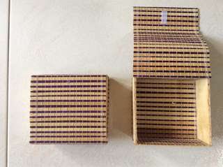Vietnamese Gift Boxes - wood-cum-bamboo
