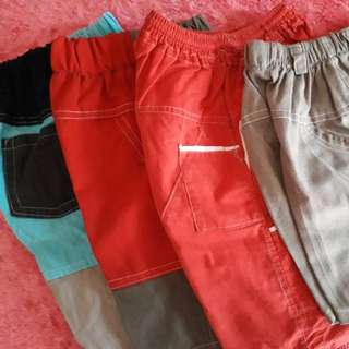Take All: 3 shorts free 1 total 4.