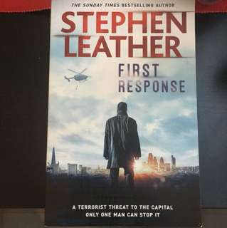 ** Sale Last 3days** Stephen Leather - First Response