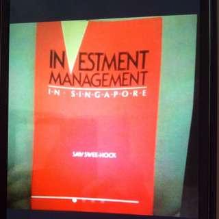 Investment Management In Singapore