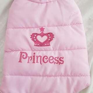 Princess dog jacket