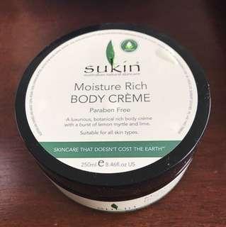 Sukin Body Crème