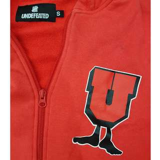 Undefeated UNDFTD 2008 All Star U-Man Zipped Hoodie SMALL