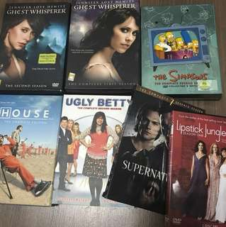 7 English Drama DVD Boxsets ( All for $10)