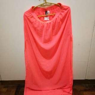 H&M sexy Maxi Skirt w/ long slit (pang matangkad)