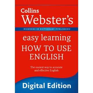 Collins Websters Easy Learning How to Use English eBook