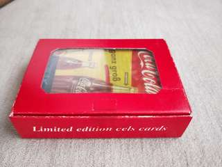 LIMITED EDITION Vintage Coca Cola Cels Cards