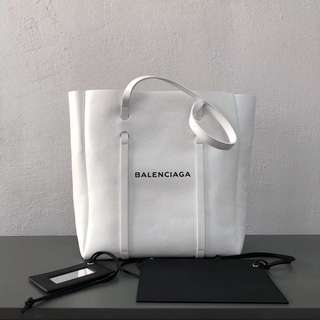 Balenciaga Leather Tote Bag