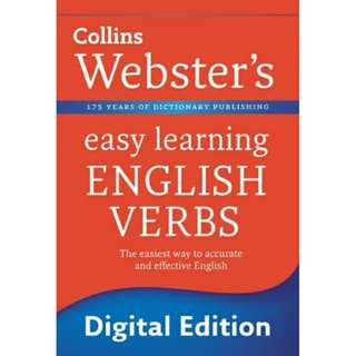 Collins Websters Easy Learning English Verbs eBook