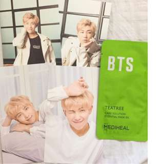 ON HAND RM BTS X MEDIHEAL MEMBER POSTCARD SETS