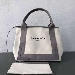 Balenciaga canvas tote bag