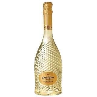 意大利甜汽酒 - 聖天路扭紋系列莫斯卡托桃味汽酒 (Santero Vin Up. Moscato Pesca)