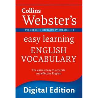 Collins Websters Easy Learning English Vocabulary eBook