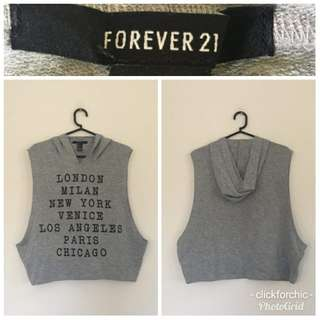 Forever 21 Loose S/L Hoodie