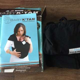 Baby K'Tan Breeze Black in xsmall