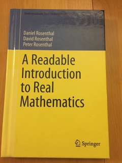 Readable introduction to real mathematics