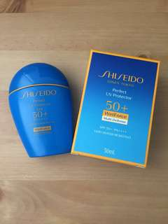 Shiseido Perfect UV Protector Wetforce Multi Defense