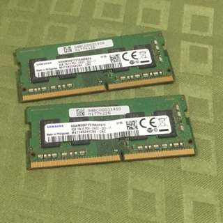 Samsung 4GB DDR4 2400Mhz Laptop RAM