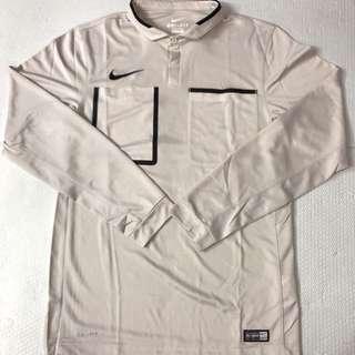 Nike 白灰色足球裁判服