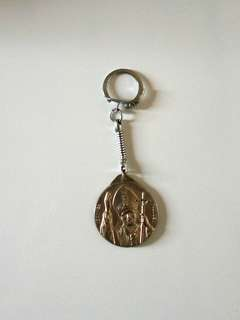 意大利梵蒂岡銀色匙扣
