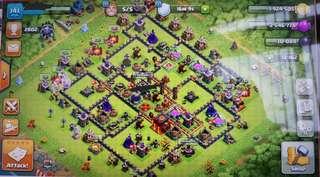 Clash of Clans Account + 12k gems!
