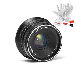 7artisans 25mm / F1.8 Prime Lens to All Single Series for E Mount / for Micro 4/3