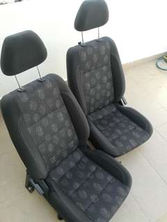 Proton Persona Front Seats