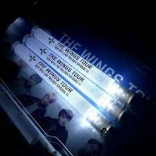 ON HAND BTS The WINGS Tour Regular Lightstick