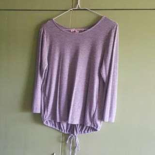 F21 knit top