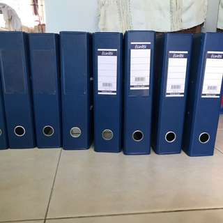 URGENT Blue Ring Files 3 inch