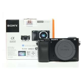 Sony A6000 Mirrorless Body Only (Still under Sony Malaysia Warranty until Oct 2018)