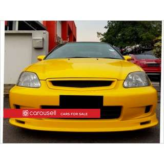Honda Civic SIR EK4 (New 10-yr COE)