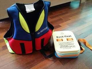 Life Jacket & Back Float