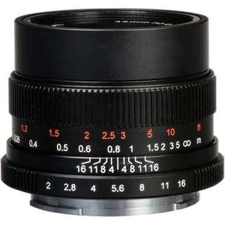 7artisans 35mm f/2 Lens