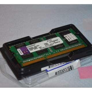 Kingston 8GB DDR3 SO-DIMM DDR3 1333 Laptop Memory Model KVR1333D3S9/8G